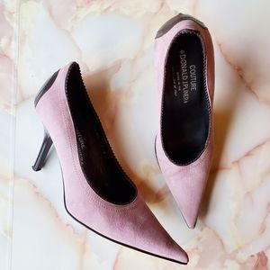 Donald J. Pliner Couture Lilac Leather Heels